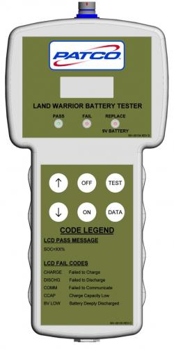 PE-BT-03 Land Warrior Battery Tester/Analyzer